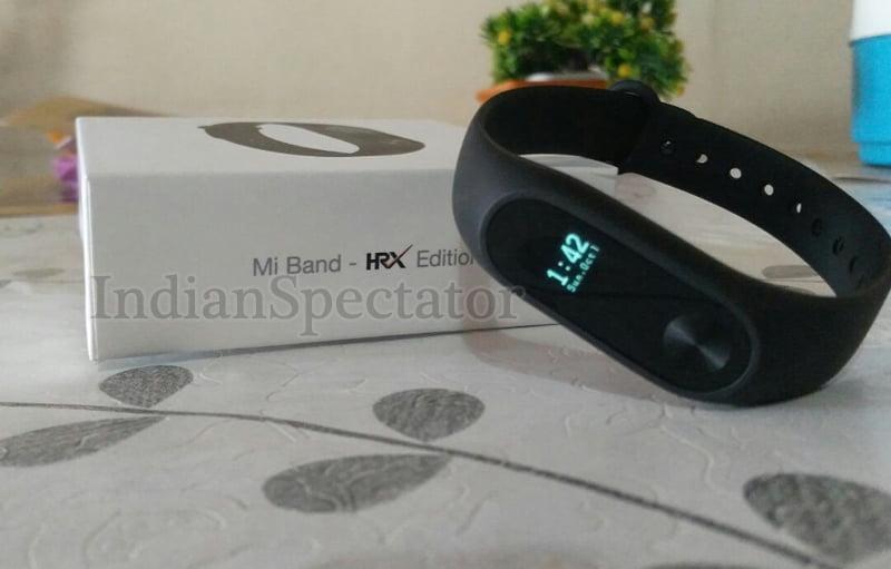 Mi Band HRX Edition