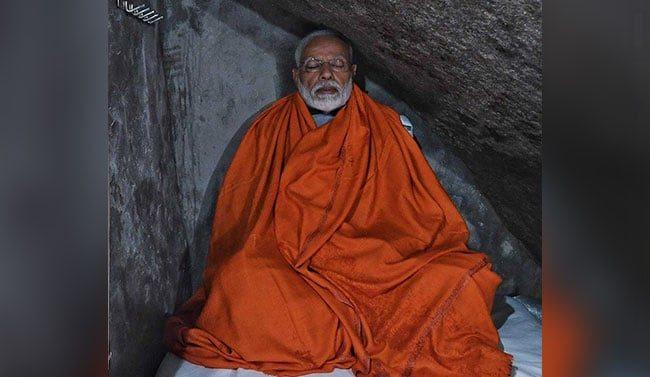Narendra Modi Offers Prayers At Kedarnath