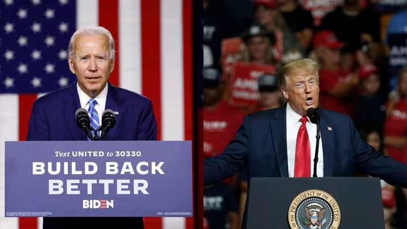 Democrat nominee Joe Biden